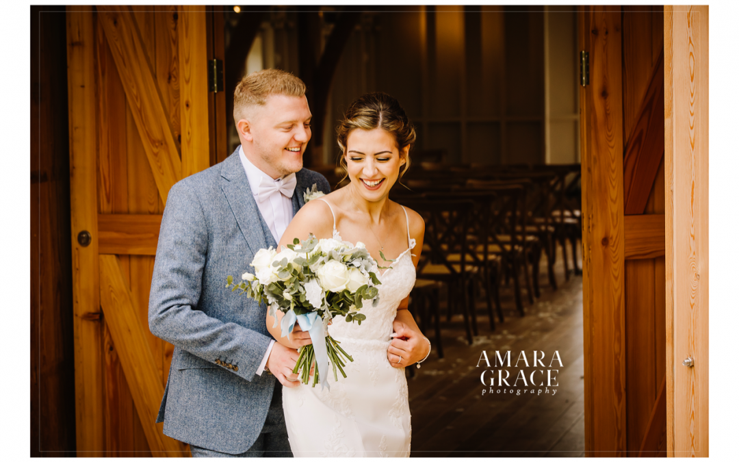 Lisa and Darren's stunning Cotswold wedding